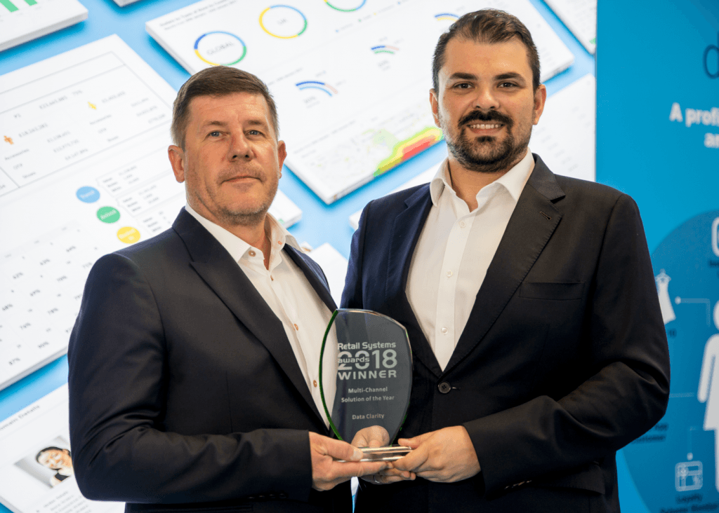 Retail Systems Award Winners - Kevin Carrick and Pana Lepeniotis