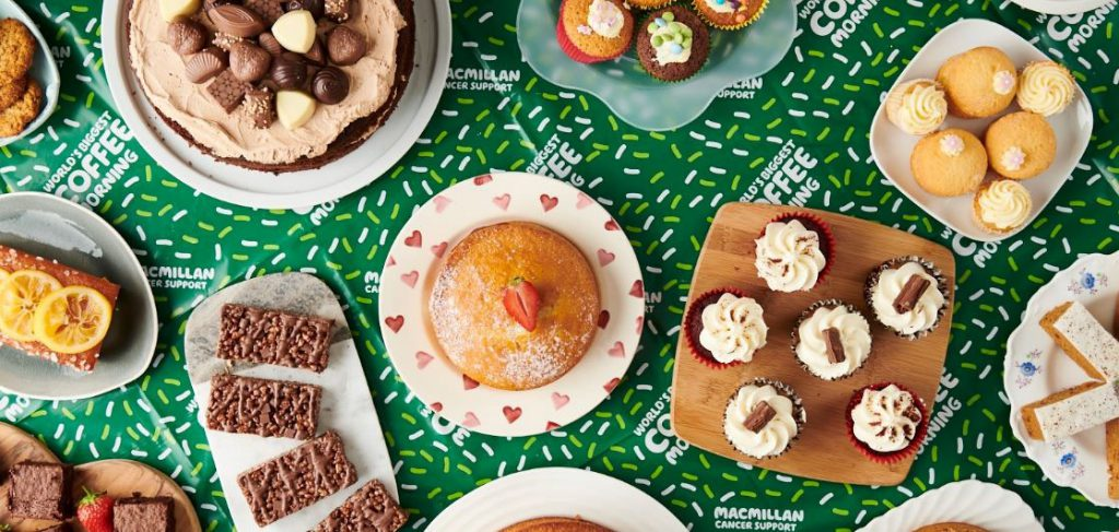 Data Clarity host coffee morning in aid of Macmillan cancer support