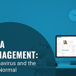 Data Management: The impact of coronavirus and the new normal