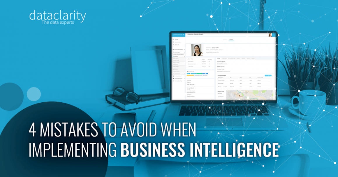 4 Mistakes to Avoid When Implementing Business Intelligence