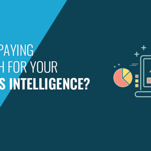 Are you paying too much for your business intelligence?
