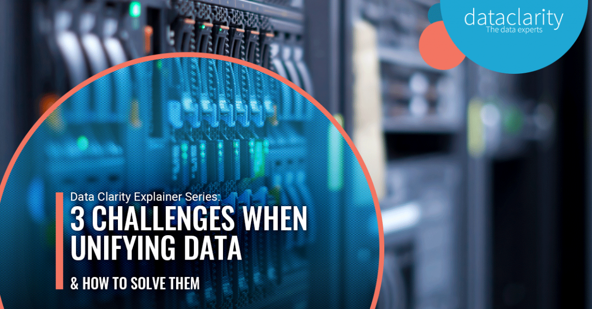 3 challenges when trying to unify data and how to solve them